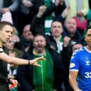 Rangers allege Alfredo Morelos was racially abused by Celtic supporters