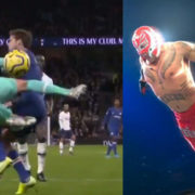 WATCH: Gazzaniga Goes Full WWE And Jumps At Marcos Alonso For Mental Penalty