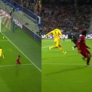 WATCH: Salah Scores From Crazy Angle. How Is This The One He Scores?