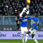 WATCH: Cristiano Ronaldo scores thunderous header against Sampdoria