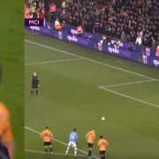 WATCH: The First 26 Minutes Of Wolves vs Man City Has Been Absolute Madness