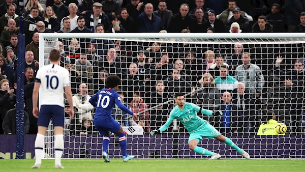 Chelsea's win at 10-man Spurs overshadowed by alleged racist abuse of Rudiger