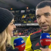 "WATCH: ""Real pressure is watching my mum work 3 jobs trying to make ends meet for Christmas."" -Troy Deeney"