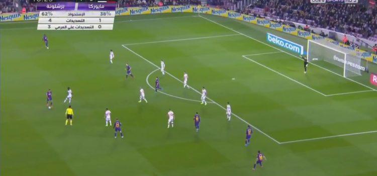 Messi Amazing Goal Barcelona vs Mallorca