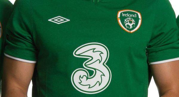 Three Ireland to end sponsorship of Irish football team