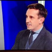 VIDEO: Cannot believe what @SkySports  presenter, Dave Jones said to Gary Neville here.   😮