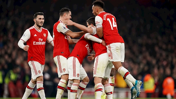 Pepe and Sokratis fire Arteta to first victory as Gunners boss