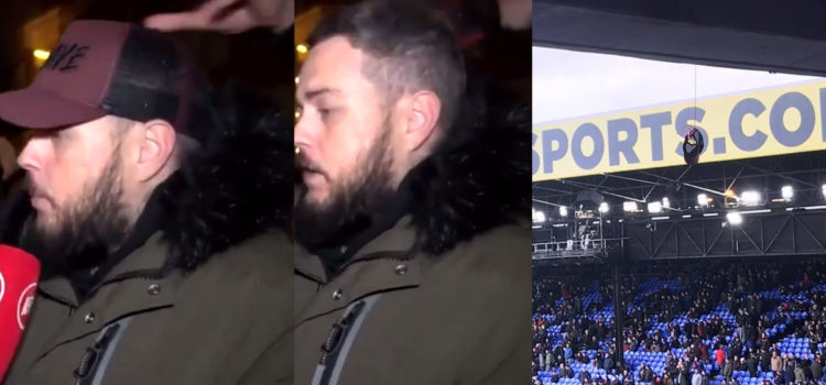 WATCH: Palace Fan Steals DT's Hat In October Then Hangs It Above The Home End Today
