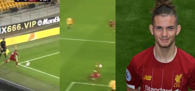 WATCH: Harvey Elliot Has Just Scored An Overhead Kick From A Corner. WOW!