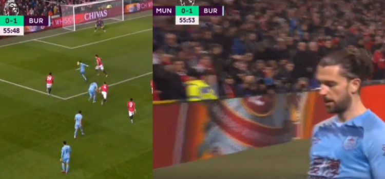 WATCH: Jay Rodriguez Scores A Near Post Stunner At Old Trafford