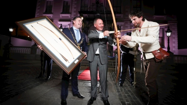 Jim Gavin 'deeply privileged' to receive Freedom of Dublin City