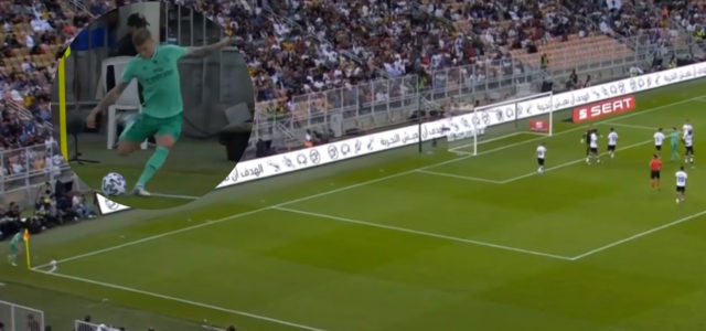 WATCH: Toni Kroos Scores Directly From A Corner!
