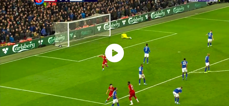 VIDEO: Curtis Jones With an Absolutely beauty of a Goal!
