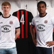 Bohemians join Amnesty International campaign to end Direct Provision with away jersey launch