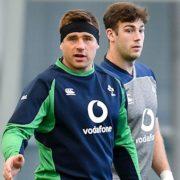 Caelan Doris on bench in unchanged Ireland side for England clash