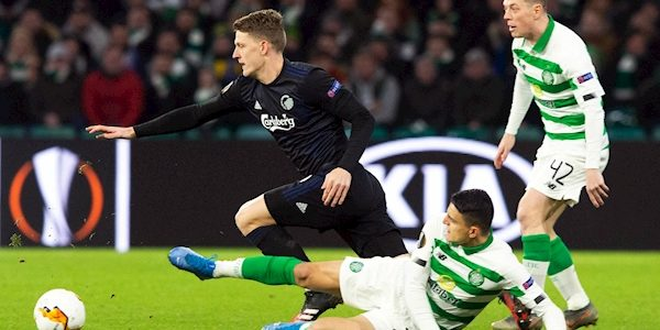 Celtic knocked out of Europa League by FC Copenhagen's late goals