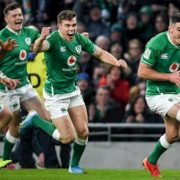 Captain Sexton's try the difference as Ireland hang on against Scotland