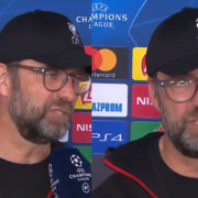 "WATCH: Jurgen Klopp Fires Shots In Post Match Interview ""Welcome To Anfield. It's Not Over Yet"""