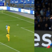 WATCH: Dries Mertens With A Filthy Top Bins Finish Against Barcelona