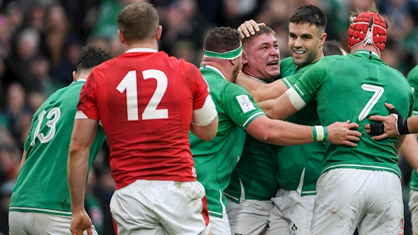 Ireland see off Wales to record emphatic win