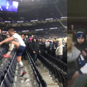 WATCH: Eric Dier Sprints Into The Stand To Fight With A Tottenham Supporter