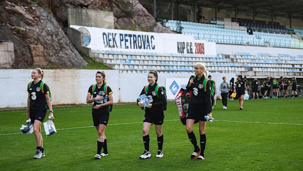 Ireland's crunch Women's Euro 2021 qualifier today to be played behind closed doors