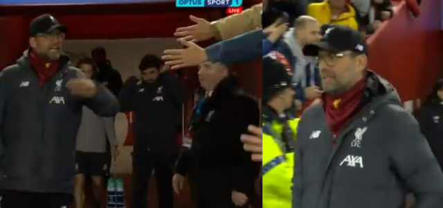 WATCH: Klopp Calls Liverpool Fans Trying To Shake His Hand 'F***ing Idiots'
