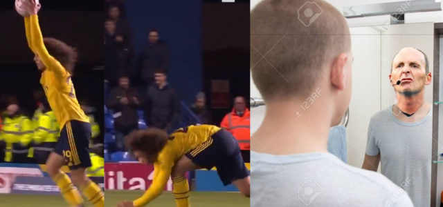 WATCH: Guendouzi Booked For Sarcasm. Mike Dean Is At It Again!