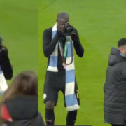 WATCH: Mendy Steals Photographer's Camera And Takes Photos As She Chased Him