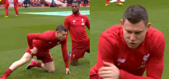 WATCH: Here's Why Milner's Pre-Match Team Talk Is Going Viral!