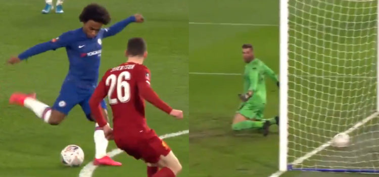 WATCH: Liverpool Defence Has Meltdown As Adrian Spills The Ball Over His Own Line