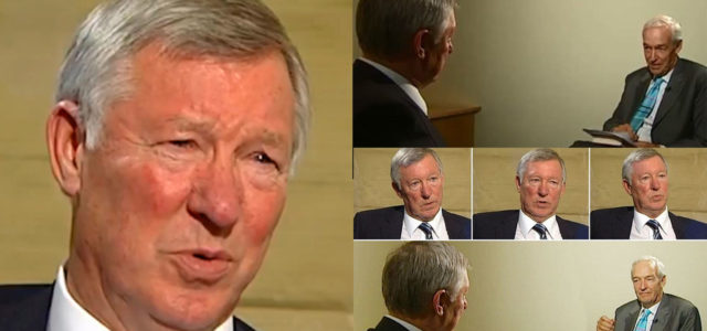 VIDEO: Jon Snow Completely Grills And Rinses Sir Alex Ferguson