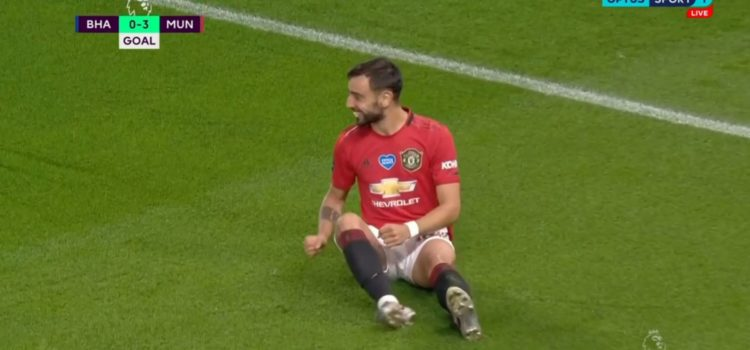 WATCH: United Score Stunning Counter Attack With Bruno Fernandes Volley