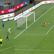WATCH: Inter's Gagliardini Has Produced The Miss Of The Century