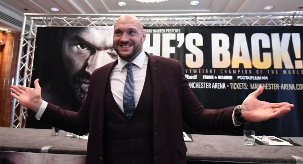 Report: Tyson Fury parts ways with Daniel Kinahan