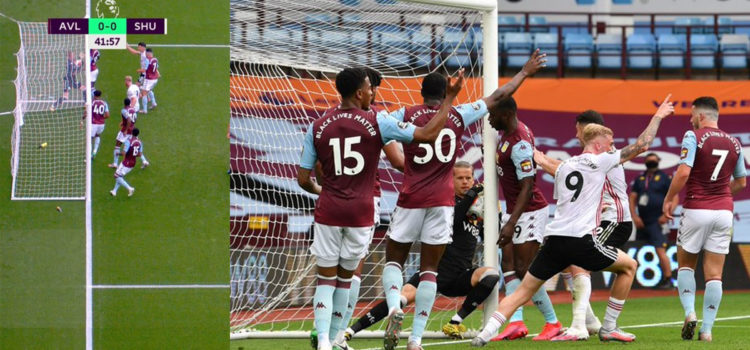WATCH: Goal Line Technology And VAR Fail As Sheffield Goal Isn't Awarded