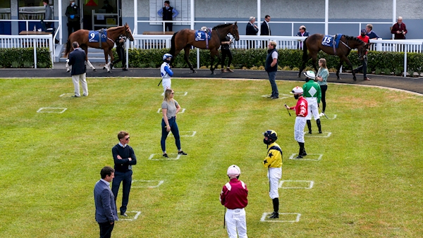 Aidan O'Brien's More Beautiful wins first race in Ireland since March