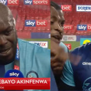 WATCH: Akinfenwa With The Interview Of The Season After Wycombe Secure Promotion To The Championship