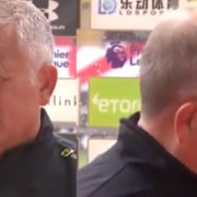 "WATCH: Sprinklers Get Turned Onto Chris Wilder Mid Interview ""OI, OI"""