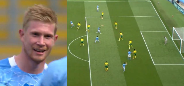 WATCH: KDB Is A Freak! How Has He Scored This?! What A Goal!