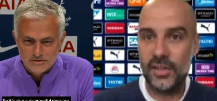WATCH: Pep Thinks Man City Are Owed An Apology From UEFA And Mourinho