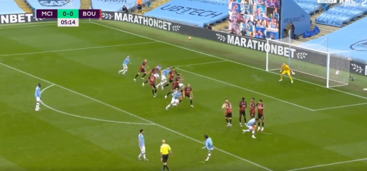 WATCH: David Silva Curls A Perfect Free-Kick In Top Bins