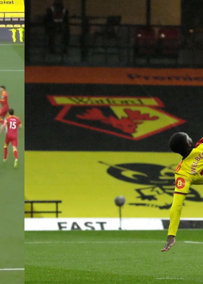 WATCH: Danny Welbeck Scores Stunning Overhead Kick For Watford