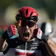 Ireland's Sam Bennett denied Tour de France stage victory by Ewan's late show