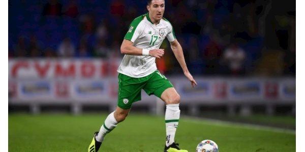Former Ireland international Stephen Ward training with Ipswich Town