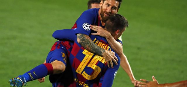 Barcelona sink Napoli to reach Champions League quarter-finals