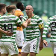 Neil Lennon defends striker selection as Celtic grind down Motherwell