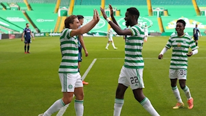Odsonne Edouard hat-trick the highlight as Hoops hit Hamilton for five