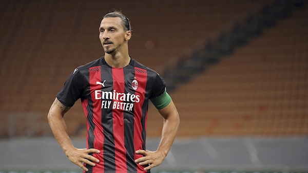 Zlatan Ibrahimovic included in AC Milan squad to face Shamrock Rovers