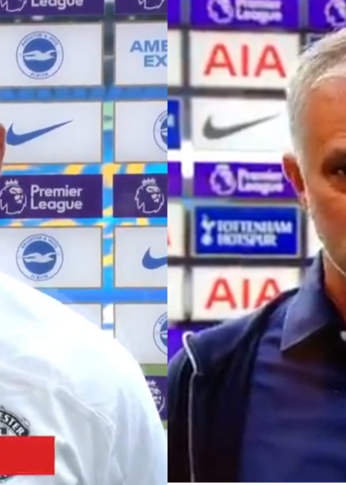 WATCH: Jose Mourinho Mocks Ole And United By Making Comments About Penalties Before Today's Game